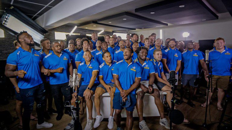 "Johnny Clegg's ""The Crossing"" by DHL Stormers & Friends #iamastormer #dhldelivers"