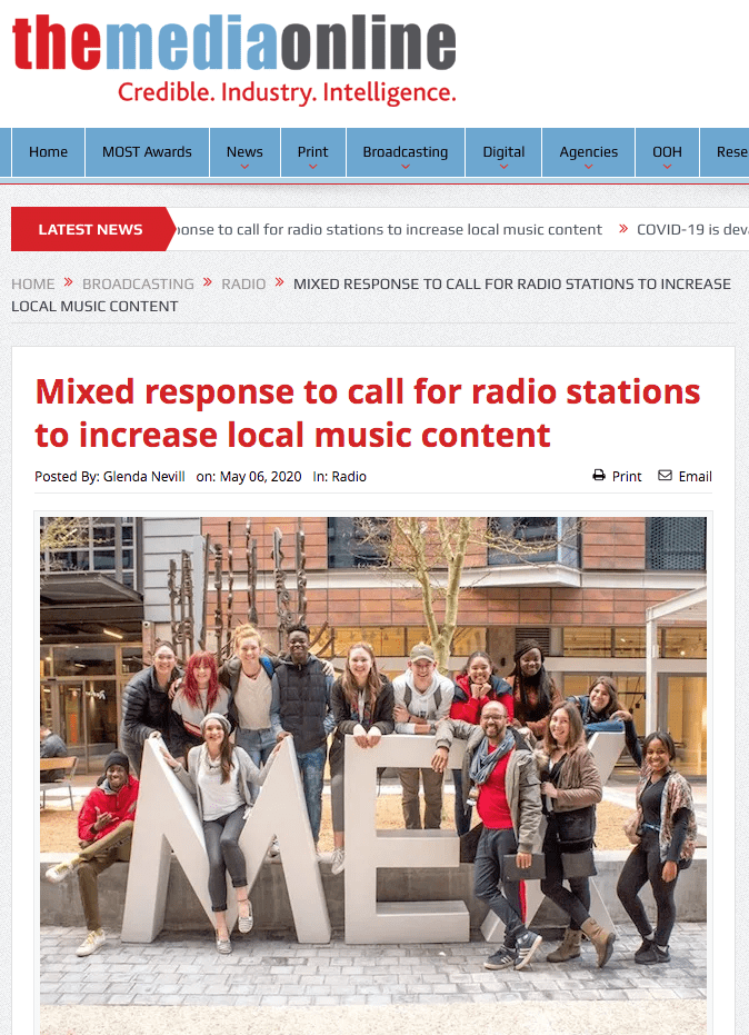 Mixed response to call for radio stations to increase local music content